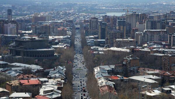 Jerevan, prestonica Jermenije - Sputnik Srbija