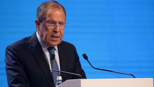 Министар иностраних послова Руске Федерације Сергеј Лавров - Sputnik Србија