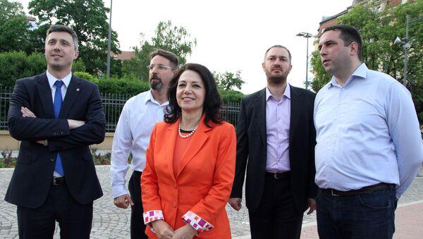 Lideri koalicije DS-Dveri - Sputnik Srbija