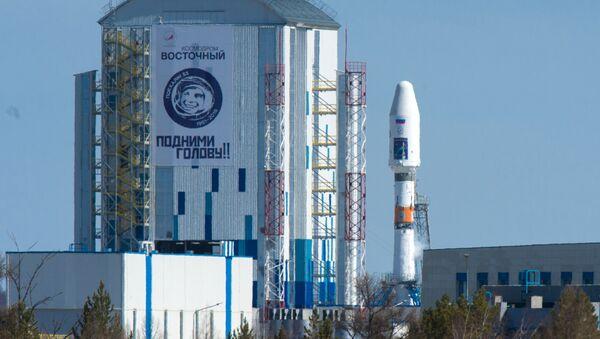 """Прво лансирање ракете-носача Сојуз 2.1а са космодрома """"Восточни"""" - Sputnik Србија"""