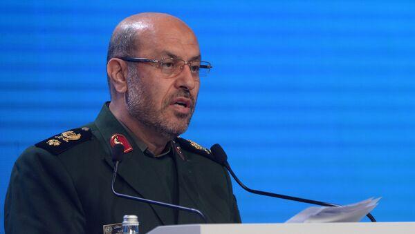 Ministar odbrane Irana Husein Dehgan - Sputnik Srbija