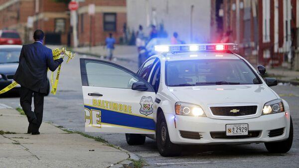 Policijski automobil u Baltimoru, SAD - Sputnik Srbija