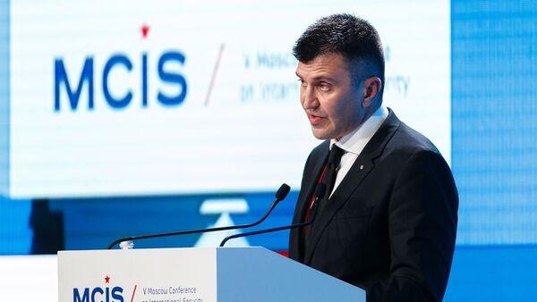 Ministar odbrane Zoran Đorđević na 5. Moskovskoj međunarodnoj konferenciji o bezbednosti - Sputnik Srbija