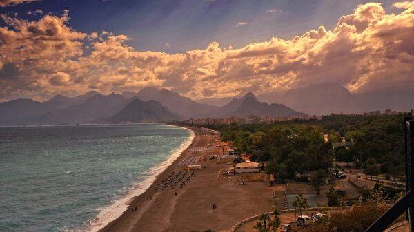 Plaža u Antaliji, Turska - Sputnik Srbija