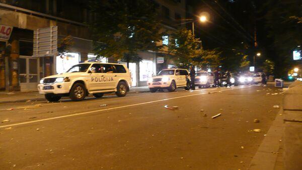 Interventna policija u Beogradu - Sputnik Srbija