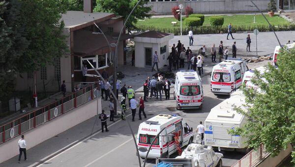 Teroristički napad na jugoistoku Turske - Sputnik Srbija