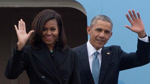 Барак и Мишел Обама - Sputnik Србија