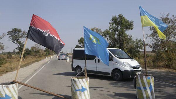 Blokada Krima iz strane Ukrajine - Sputnik Srbija