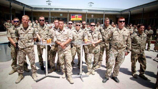 Vojnici nemačkih oružanih snaga Bundesver u Avganistanu - Sputnik Srbija