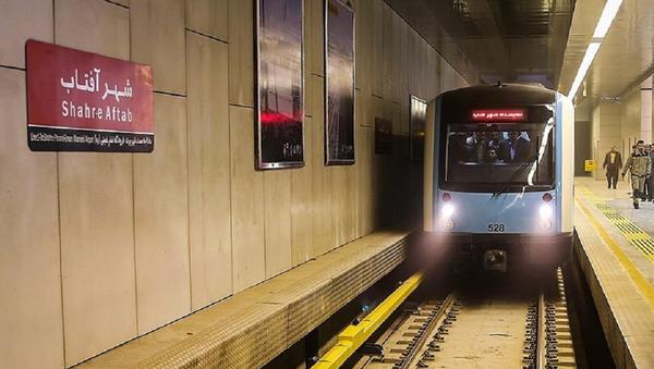 Teheran-metro stanica - Sputnik Srbija