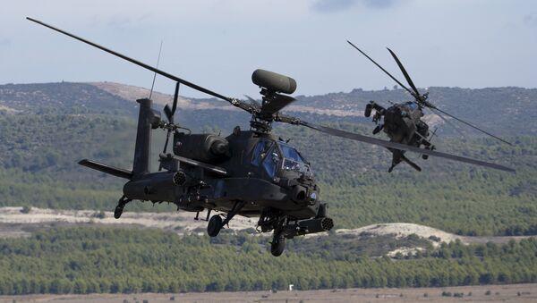 НАТО хеликоптери АХ-64 Апач - Sputnik Србија