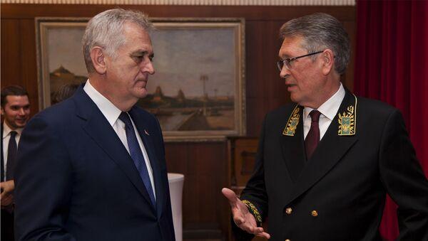 Tomislav Nikolić i Aleksandar Čepurin - Sputnik Srbija