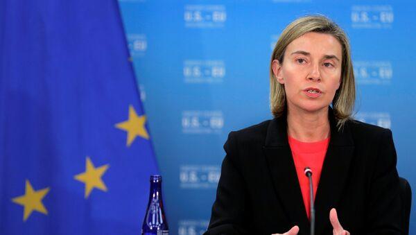 Visoka predstavnica EU za spoljnu politiku i bezbednost Federika Mogerini - Sputnik Srbija