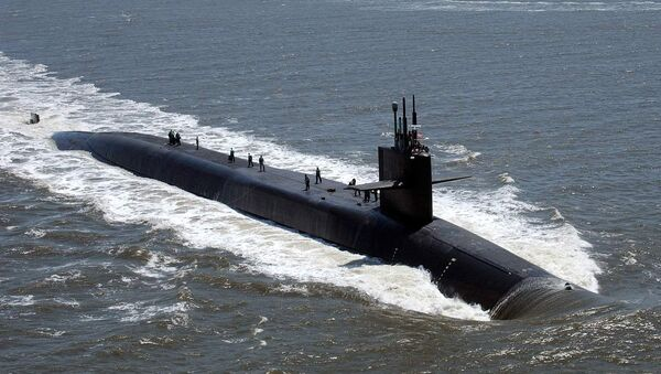 """Америчка нуклеарна подморница """"Флорида"""" са балистичким ракетама - Sputnik Србија"""