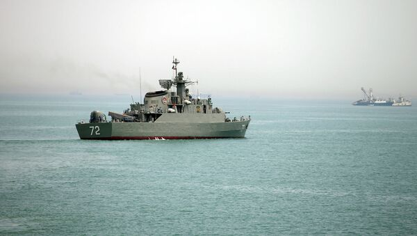 Ирански ратни брод Алборз - Sputnik Србија