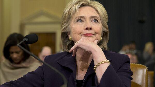Demokratski predsednički kandidati SAD Hilari Klinton - Sputnik Srbija