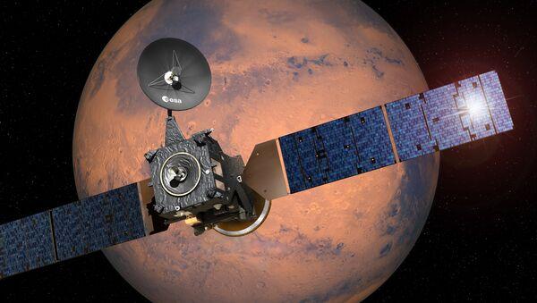 Егзомарс орбитер који се креће ка Марсу - Sputnik Србија