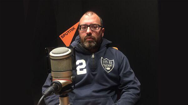 Feđa Dimović , član grupe Beogradski sindikat - Sputnik Srbija