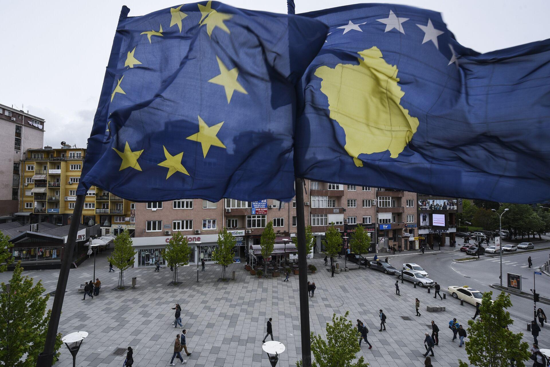 Косово није држава чак ни у виртуелном свету: Срби подижу своју заставу - Sputnik Србија, 1920, 29.03.2021