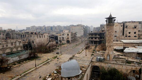 Ruševine u Starom Alepu - Sputnik Srbija
