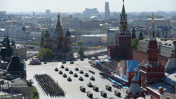 Војна парада у Москви поводом 71. годишњице победе у Великом отаџбинском рату, на Дан победе, 9. мај 2016. - Sputnik Србија