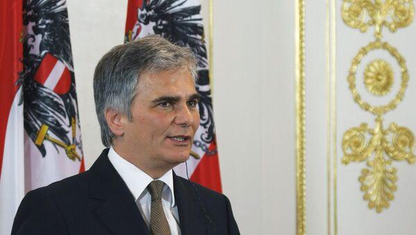 Austrijski premijer Verner Fajman - Sputnik Srbija