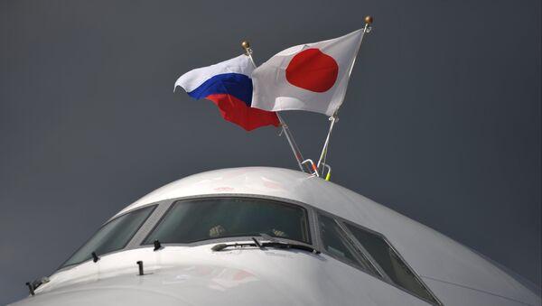 Заставе Јапана и Русије - Sputnik Србија