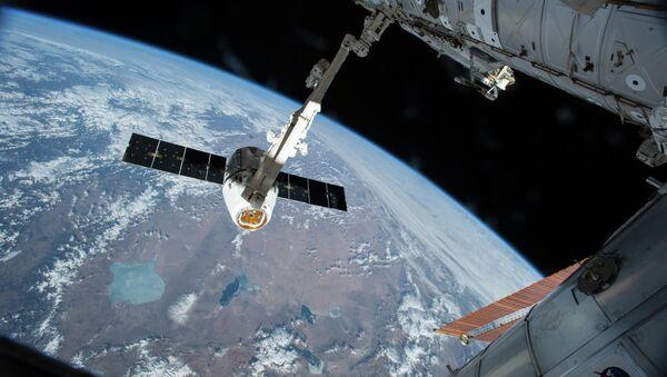 Povratak teretnog broda sa međunarodne svemirske stanice - Sputnik Srbija