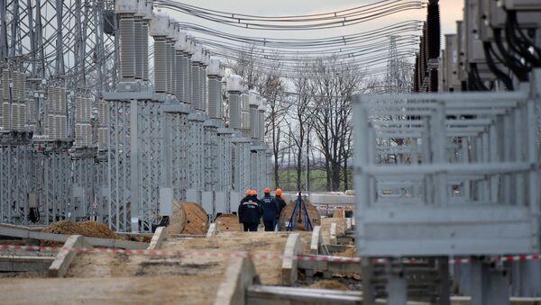 Izgradnja energetskog mosta preko Kerčkog moreuza - Sputnik Srbija
