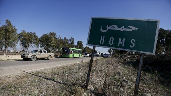 Provincija Homs u Siriji - Sputnik Srbija