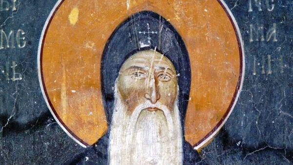 Stefan Nemanja, freska u manastiru Studenici - Sputnik Srbija