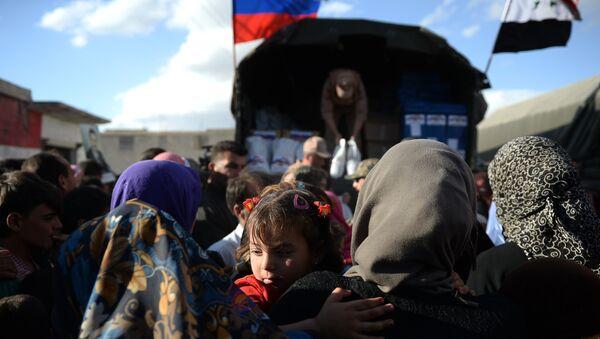 Ruska humanitarna pomoć u Siriji - Sputnik Srbija