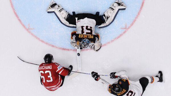 Svetsko prvenstvo u hokeju koje se održava u Moskvi. Meč Kanada - Nemačka - Sputnik Srbija