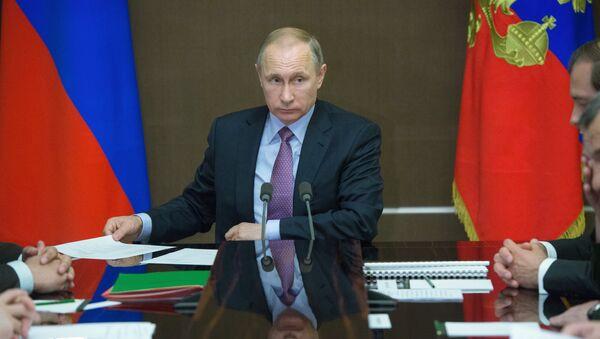 Председник Руске Федерације Владимир Путин - Sputnik Србија