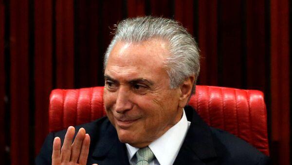 V.D. predsednika Brazila Mišel Temer - Sputnik Srbija