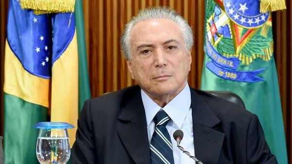 В.Д. председника Бразила Мишел Темер - Sputnik Србија