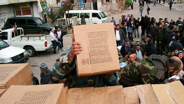 Rusija isporučuje humanitarnu pomoć u sirijski Kesab u provinciji Latakija - Sputnik Srbija