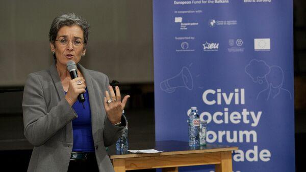 Ulrike Lunaček, potpredsednica Evropskog parlamenta i izvestilac za Kosovo - Sputnik Srbija
