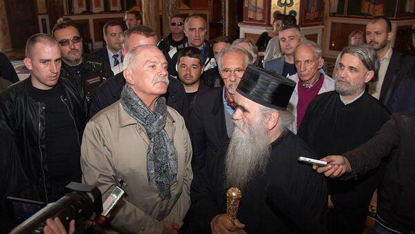 Редитељ Никита Михалков на додели ордена у Подгорици - Sputnik Србија