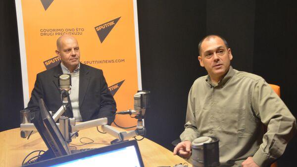 Aleksandar Radić, Aleksandar Pavić - Sputnik Srbija