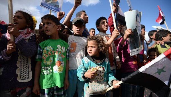 Isporuka humanitarne pomoći sirijskom stanovništvu - Sputnik Srbija
