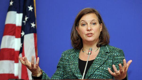 Помоћница америчког државног секретара за Европу и Евроазију Викторија Нуланд - Sputnik Србија