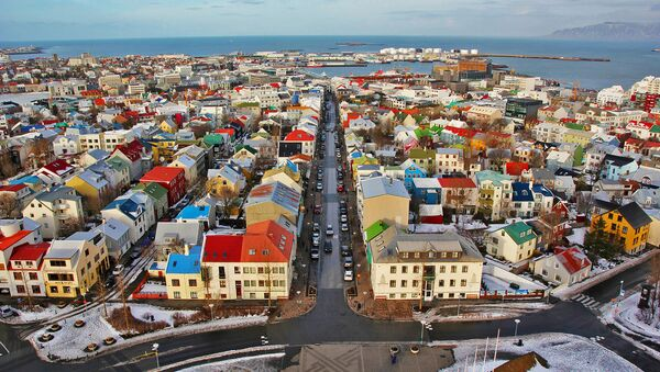 Rejkjavik, glavni grad Islanda - Sputnik Srbija