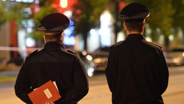 Полиција у Москви - Sputnik Србија