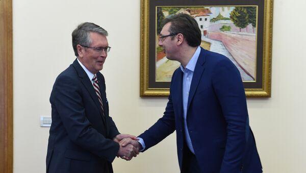 Александар Чепурин и Александар Вучић - Sputnik Србија