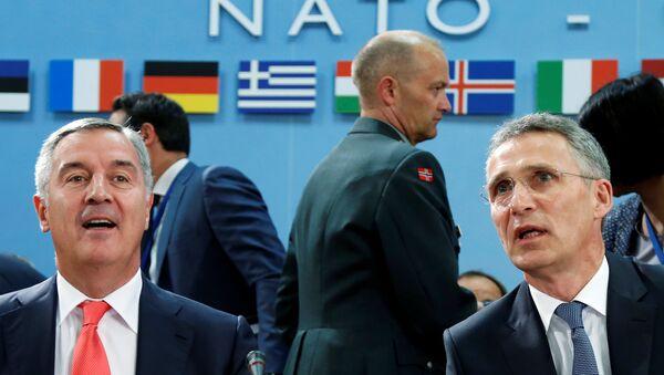 Potpisivanje protokola o pristupanju Crne Gore u NATO - Sputnik Srbija