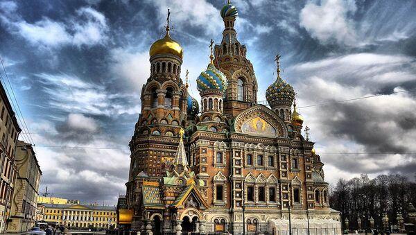 Црква спаса на крви у Санкт Петербургу - Sputnik Србија