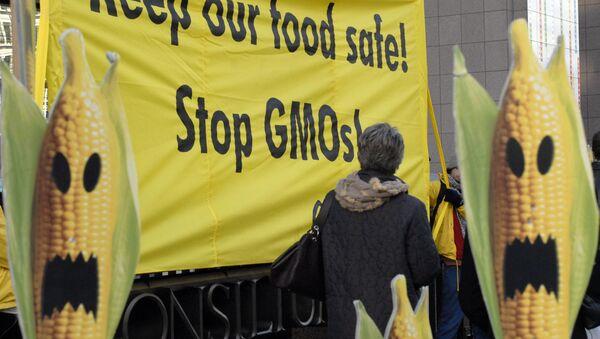 GMO protest - Sputnik Srbija