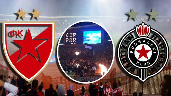 Crvena zvezda i Partizan - Sputnik Srbija