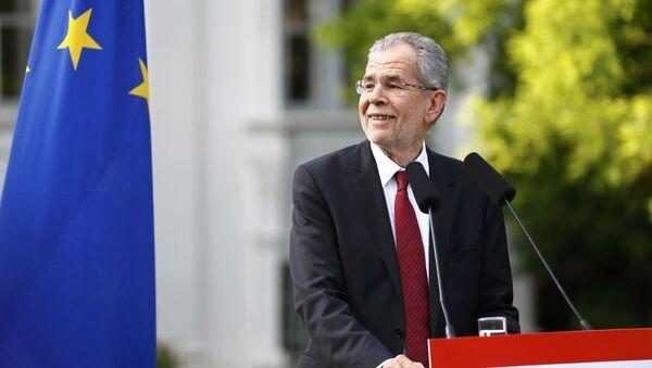 Нови председник Аустрије Александар ван дер Белен - Sputnik Србија